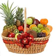 Huge basket of fruit - flowers and bouquets on flora.od.ua