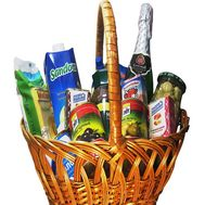 Grocery gift basket - flowers and bouquets on flora.od.ua