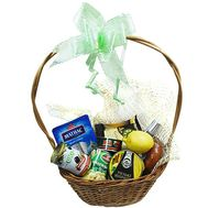 A food basket as a gift - flowers and bouquets on flora.od.ua