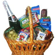 Food gift basket - flowers and bouquets on flora.od.ua