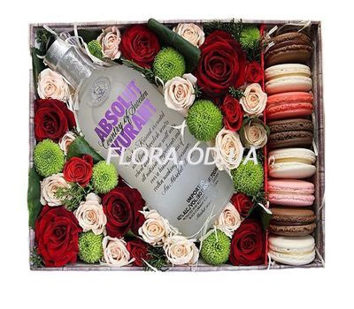 """Gift box for man"" in the online flower shop flora.od.ua"