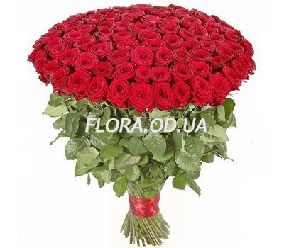 """101 imported roses 1m."" in the online flower shop flora.od.ua"