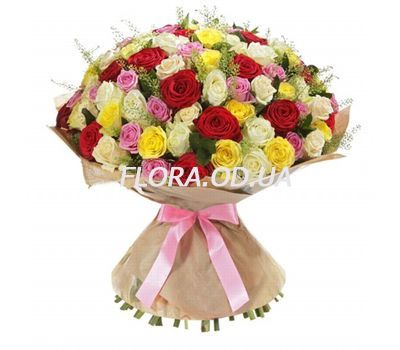"""75 roses 60 cm"" in the online flower shop flora.od.ua"