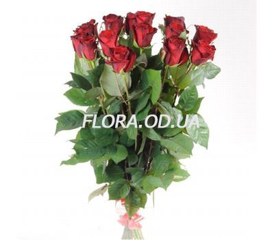 """11 imported red roses"" in the online flower shop flora.od.ua"