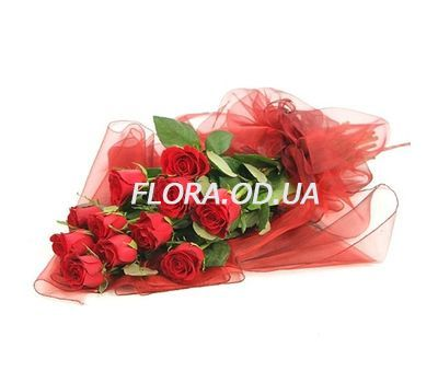 """11 import roses"" in the online flower shop flora.od.ua"