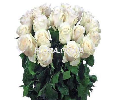 """""""21 импортная белая роза"""" в интернет-магазине цветов flora.od.ua"""