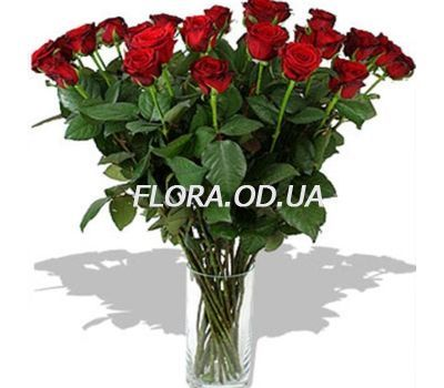 """21 imported red roses"" in the online flower shop flora.od.ua"