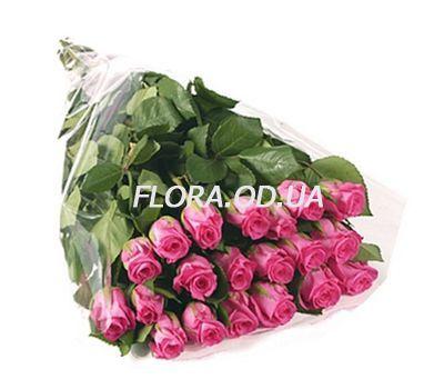 """21 imported pink roses"" in the online flower shop flora.od.ua"