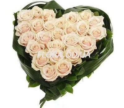 """25 white roses"" in the online flower shop flora.od.ua"