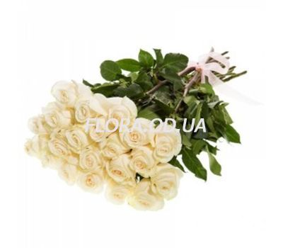 """31 imported white roses"" in the online flower shop flora.od.ua"