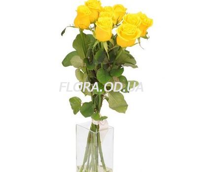 """5 yellow roses"" in the online flower shop flora.od.ua"