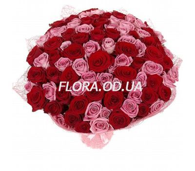 """""""75 роз 60 см"""" в интернет-магазине цветов flora.od.ua"""