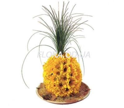 """Pineapple of flowers"" in the online flower shop flora.od.ua"