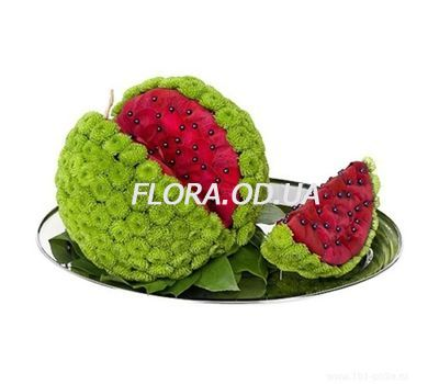 """Watermelon from flowers"" in the online flower shop flora.od.ua"