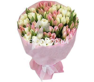 """Bouquet of 101 tulips"" in the online flower shop flora.od.ua"