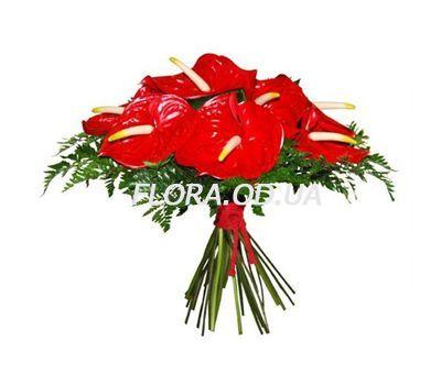 """Bouquet of 11 anthuriums"" in the online flower shop flora.od.ua"