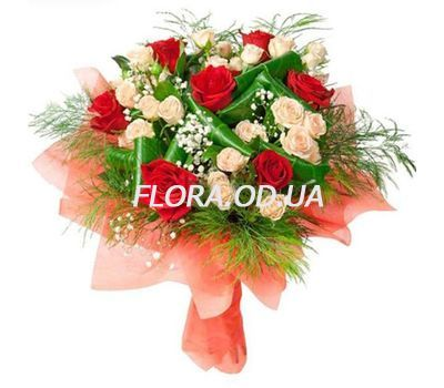 """""""Bouquet of 13 roses"""" in the online flower shop flora.od.ua"""