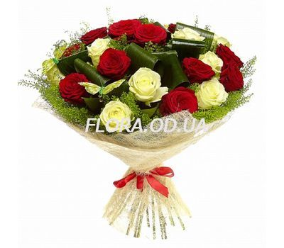 """Bouquet of 19 roses"" in the online flower shop flora.od.ua"