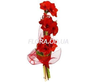 """Bouquet of 3 Amaryllis"" in the online flower shop flora.od.ua"