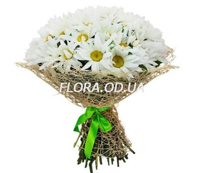 """Bouquet of 35 chamomiles"" in the online flower shop flora.od.ua"