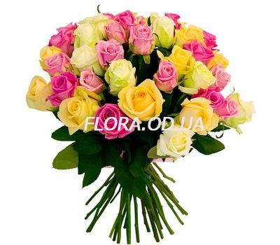 """""""Bouquet of 39 roses"""" in the online flower shop flora.od.ua"""