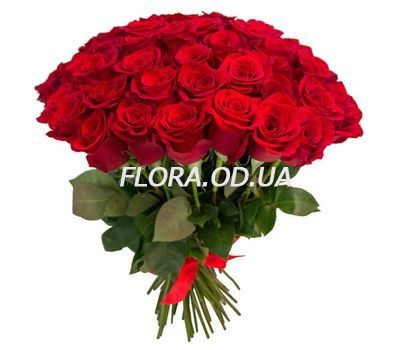 """Bouquet of 45 imported roses"" in the online flower shop flora.od.ua"