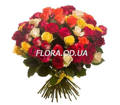"""Bouquet of 45 roses"" in the online flower shop flora.od.ua"
