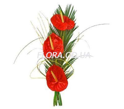 """""""Букет с антуриумои"""" в интернет-магазине цветов flora.od.ua"""