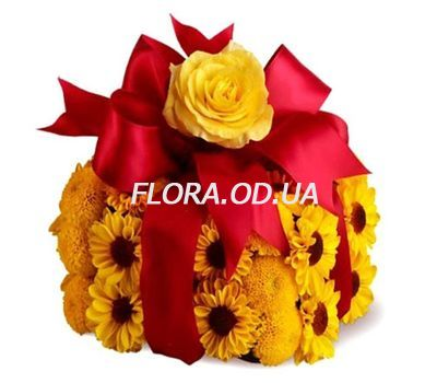 """Flower cake"" in the online flower shop flora.od.ua"