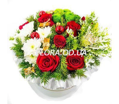 """""""Flowers for Christmas"""" in the online flower shop flora.od.ua"""