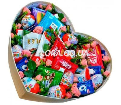 """Box with chocolate"" in the online flower shop flora.od.ua"