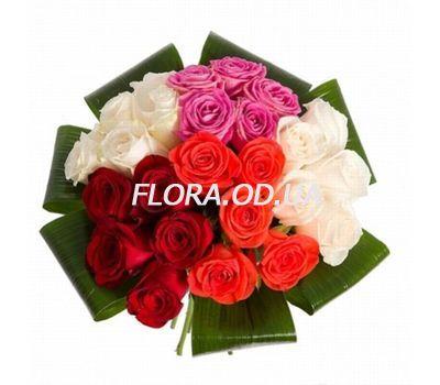 """""""Красивый букет из 25 роз"""" в интернет-магазине цветов flora.od.ua"""