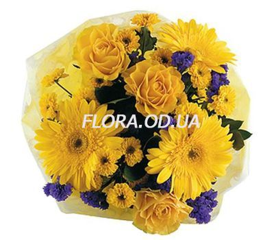 """Fashionable bouquet of flowers"" in the online flower shop flora.od.ua"