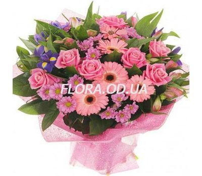 """Fashionable bouquet"" in the online flower shop flora.od.ua"