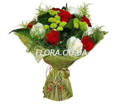 """An unusual bouquet"" in the online flower shop flora.od.ua"