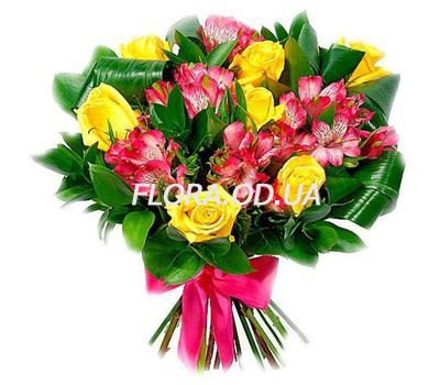 """An unusual birthday bouquet"" in the online flower shop flora.od.ua"