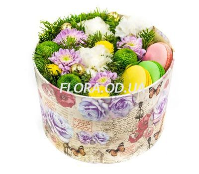 """""""New Year sweets"""" in the online flower shop flora.od.ua"""