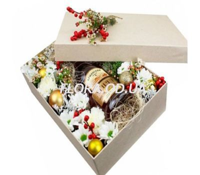 """Gift for a man for the New Year"" in the online flower shop flora.od.ua"