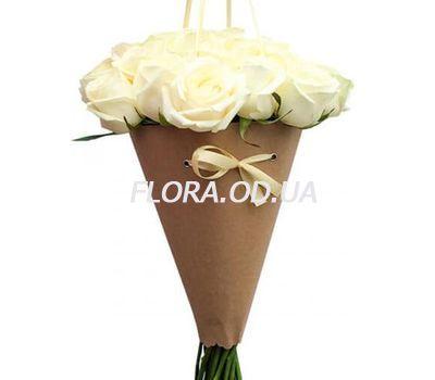 """""""Розы в конусе"""" в интернет-магазине цветов flora.od.ua"""