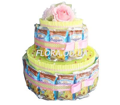"""Cake from Barney"" in the online flower shop flora.od.ua"